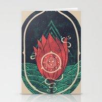Pulsatilla Patens Stationery Cards