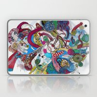 Moon Trike City Laptop & iPad Skin