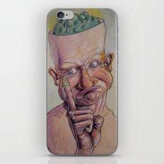 Boogers? iPhone & iPod Skin