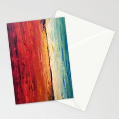 Red Meets Sea Stationery Cards