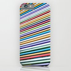Colored Lines On The Wall iPhone 6s Slim Case