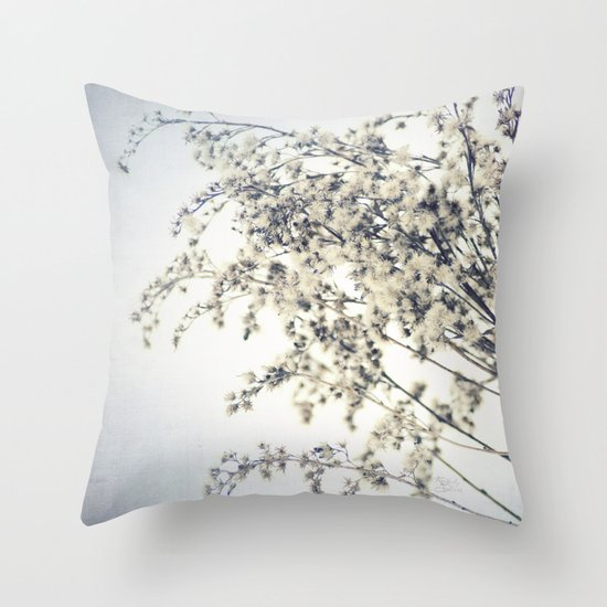Winter's Chill Throw Pillow