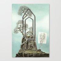 Music score Canvas Print