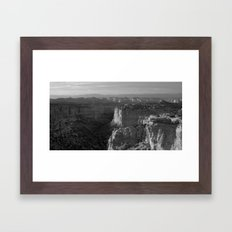 Valley in Utah Framed Art Print