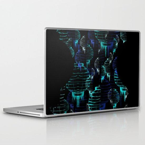 Lantern - blue Laptop & iPad Skin