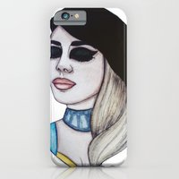 iPhone & iPod Case featuring Miss Ashley Dzerigian by ArtEleanor