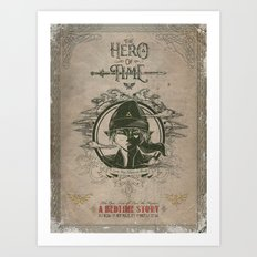 Legend Of Zelda Link The… Art Print