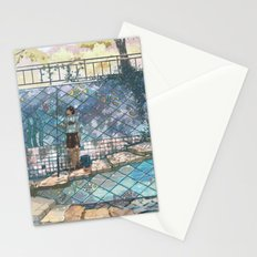 Sea stairs Stationery Cards