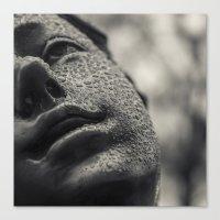 Dancer in the Rain Canvas Print