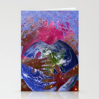 Mother Earth is Melting Stationery Cards