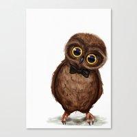 Owl III Canvas Print