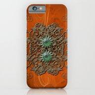 Floral Elements iPhone 6 Slim Case