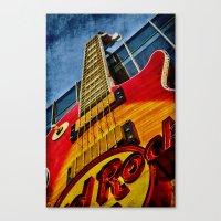 Hard Rock Cafe Vegas Canvas Print