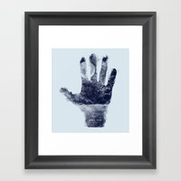 High five world Framed Art Print