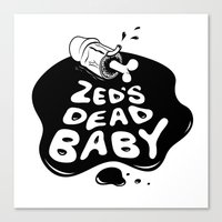 Zed's Dead Baby Canvas Print