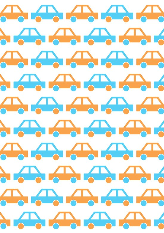 The Essential Patterns of Childhood - Car Art Print