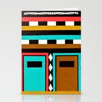 Tribe Mask Stationery Cards