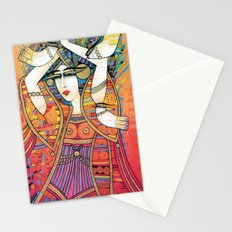 DANCER WITH DOVES Stationery Cards