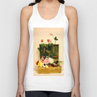 Travel happiness Unisex Tank Top