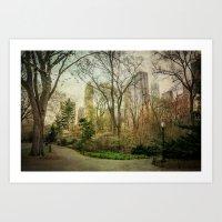Central Park NYC Art Print