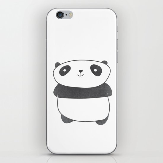 Panda Friend iPhone & iPod Skin