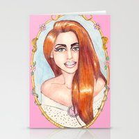 Reflecting a Smile Stationery Cards