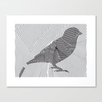 Put a Broken Bird On It! Canvas Print