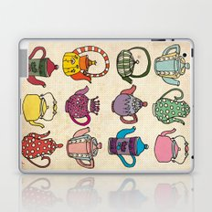 Teapots Laptop & iPad Skin