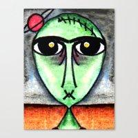 SATURNALIAN Canvas Print