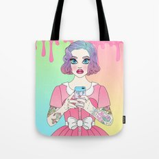 Time for a Selfie Tote Bag