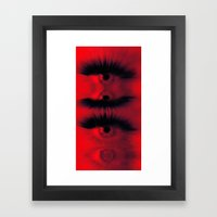 EYE AM All Seeing Framed Art Print