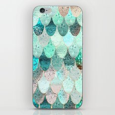 SUMMER MERMAID iPhone & iPod Skin