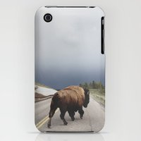 iPhone Cases featuring Street Walker by Kevin Russ