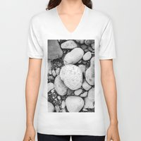 Small Boulders Unisex V-Neck