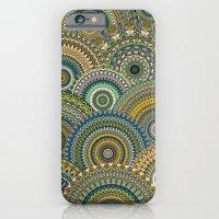 Mandala Mania-Mineral colors iPhone 6 Slim Case