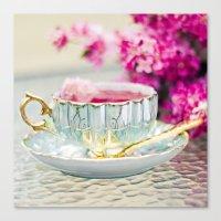 TEA CUP DELIGHT Canvas Print