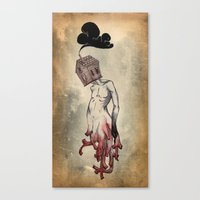 Red Roots Canvas Print