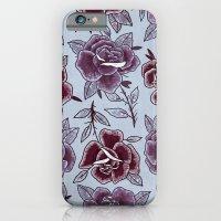 Dozen Roses - Purple iPhone 6 Slim Case