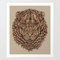 Lion (Royal) 2.0 Art Print