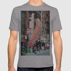 Grade Pending Mens Fitted Tee Athletic Grey SMALL