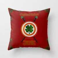 Captain Celtic Throw Pillow