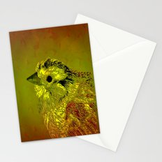 Amber Bird Stationery Cards