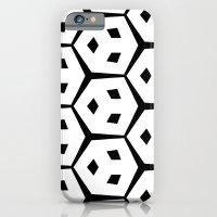 Van Trijp Black & White Pattern iPhone 6 Slim Case