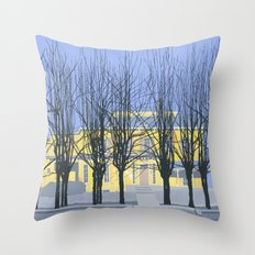 The Cumberland House Throw Pillow