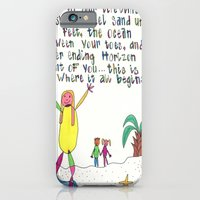 Sand Between Your Toes iPhone 6 Slim Case