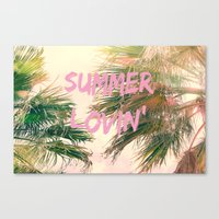Summer Lovin' I Canvas Print