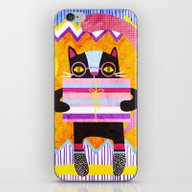 iPhone & iPod Skin featuring Present For You by Exit2wonderland