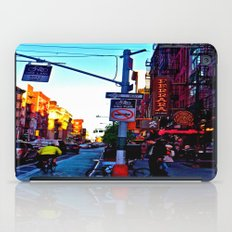 Sun Goes Down  in the City iPad Case