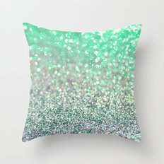 Seafoam Sensations Throw Pillow