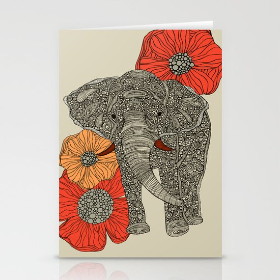 The Elephant Stationery Card